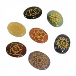 Chakra Sodalite Stones  Set - Large