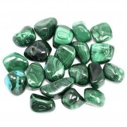 Malachite Tumble Stones
