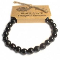 Black Agate Power Bracelet