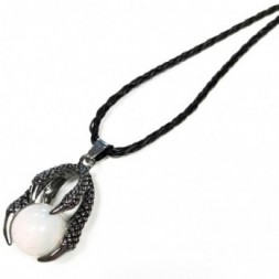 Dragon Claw Pendant - Opalite