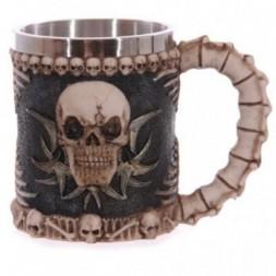 Skull and Bones Tankard
