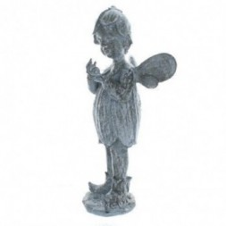 Fairy with Snail  Figurine