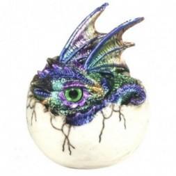 Kazon Dragon in Egg Figurine