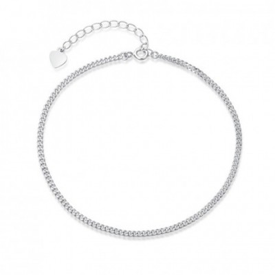 Chain Silver Anklet Casual