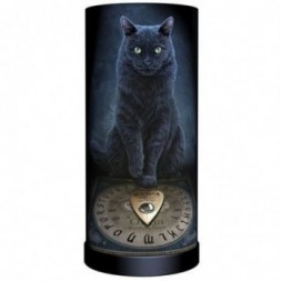 Ouija Board Black Cat Lamp