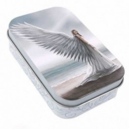 Angel Spirit Guide Metal Tin