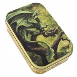 Forest Dragon Metal Tin