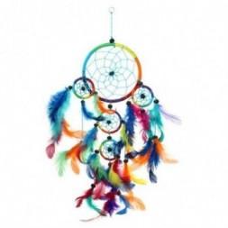 Multi Coloured Dreamcatcher