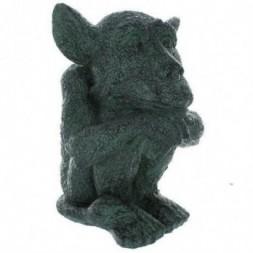 Green Gargoyle Figurine