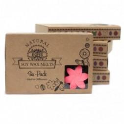 Box of 6  Wax Melts - Classic Rose