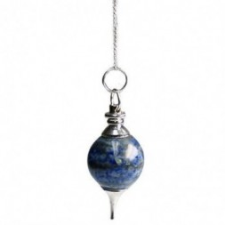 Lapis Lazuli Sphere Pendulum
