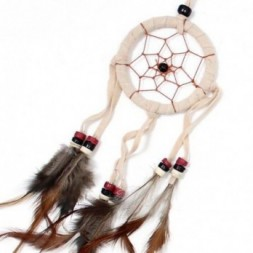 Cream, Coffee and Chocolate set of 6 Small Dreamcatchers