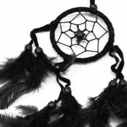 Black, White and Red set of 6 Small Dreamcatchers