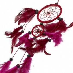 Black, White and Red set of 6 Dreamcatchers