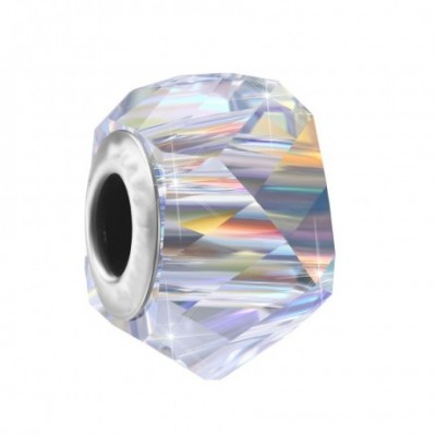 Aumtrian Crystal Geometry Silver Charm