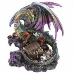 Treasure Seeker Dragon Figurine