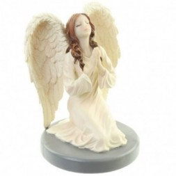Divine Reflection Guardian Angel Figurine