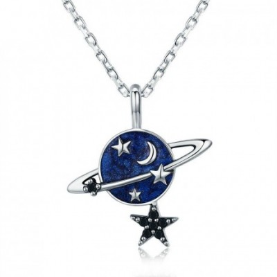 Blue Planet Star Necklace