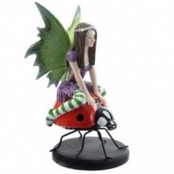 Ladybird Fairy Figure