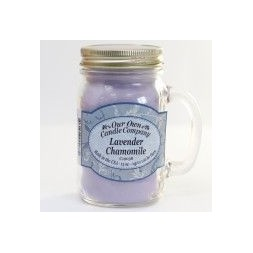 Scented Candle Jar -Lavender Chamomile