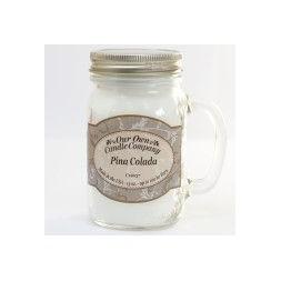 Scented Candle Jar -Pina Colada