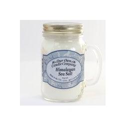 Scented Candle Jar -Himalayan Sea Salt