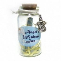 Angel Mini Wishing Jar