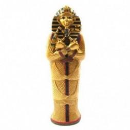 Gold Egyptian Tutankhamen Sarcophagus Trinket Box