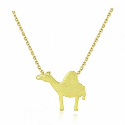Camel Silver Necklace
