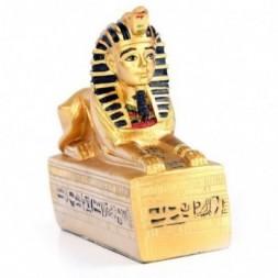 Gold Egyptian Sphinx Figurine