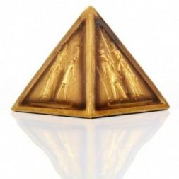 Gold Egyptian Pyramid Ornament
