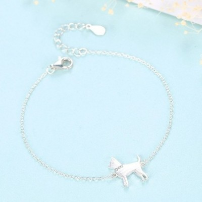 Dog Gemstone & Silver Bracelet