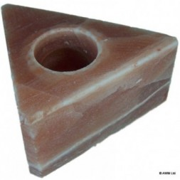 Himalayan Salt Candle Holder - Triangle design