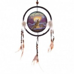 Howling at the Sunset Dreamcatcher