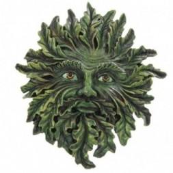 Green Treeman Wall Plaque