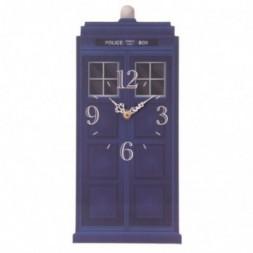 Police Box Wall Clock