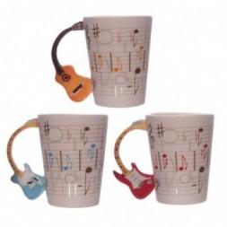 Guitar Handle Ceramic Mug