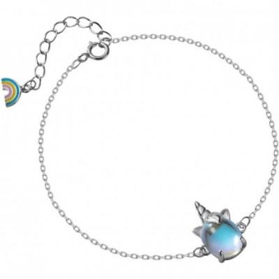 Unicorn Silver Bracelet