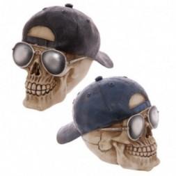 Skull Baseball Cap Ornament