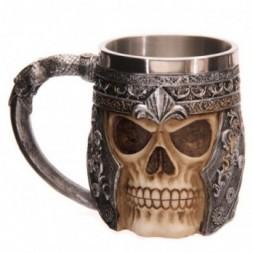 Warrior Skull Tankard