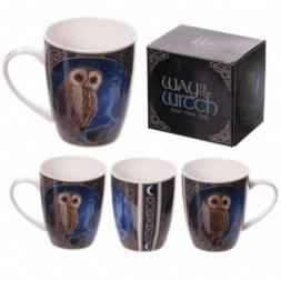 Magical Pendle Owl Bone China Mug