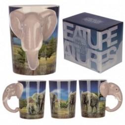 Elephant Head Mug