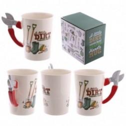 Garden Secateurs Handle Ceramic Mug