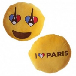 Eiffel Tower Eyes Emotive Cushion