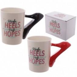 High Heels Handle Ceramic Mug