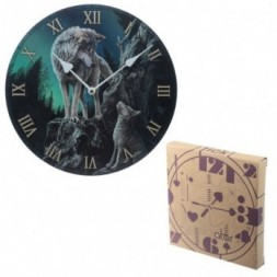 Wolf Guidance Wall Clock