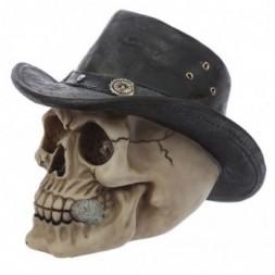 Adventurer Hat Skull  Ornament