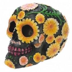 Day of the Dead Daisy Skull