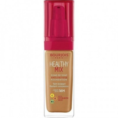 Bourjois Healthy Mix Anti-Fatigue Foundation - Dark Amber