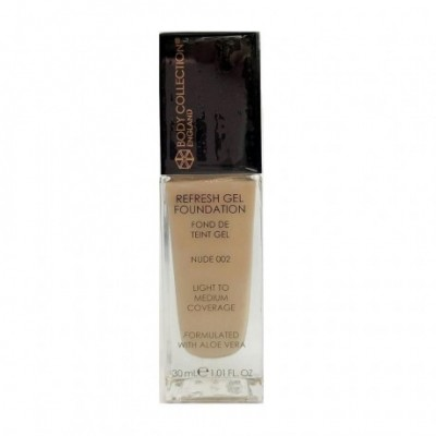 Body Collection Refresh Gel Foundation - 002 NUDE